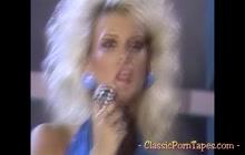 Vintage porn starring a voluptuous blonde vixen