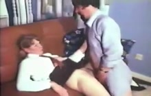 Schoolgirl fucked by older guy