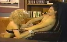 Kinky maid Nina Hartley
