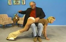 Vintage ass spanking