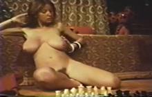 Beautiful vintage teen with big natural tits