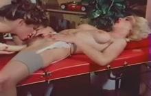 Great lesbian massage and fuck