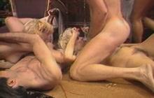 Vintage orgy with Nina Hartley